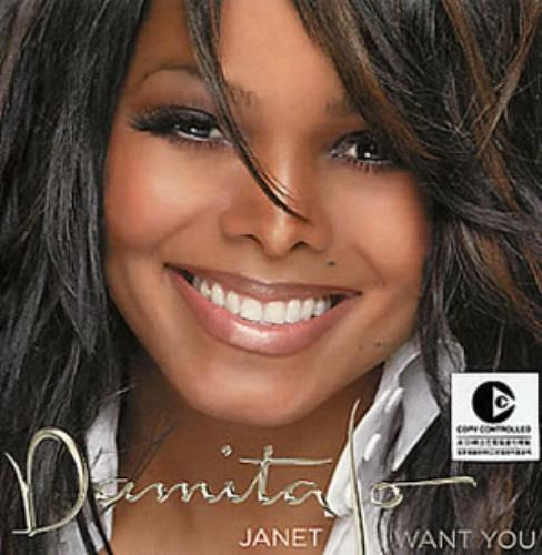 "Janet Jackson Damita Jo Sampler CD single (CD5 / 5"") Taiwanese J-JC5DA285062"