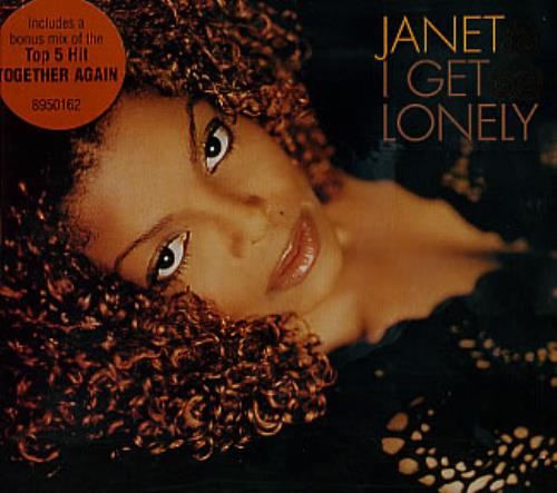 "Janet Jackson I Get Lonely CD single (CD5 / 5"") Australian J-JC5IG309931"