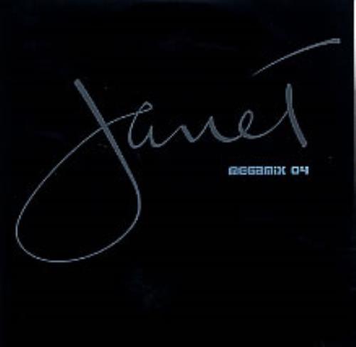 "Janet Jackson Janet Megamix 04 CD single (CD5 / 5"") UK J-JC5JA270845"