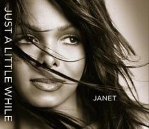 "Janet Jackson Just A Little While CD single (CD5 / 5"") Canadian J-JC5JU283364"