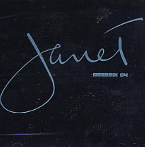 """Janet Jackson Megamix 04 CD single (CD5 / 5"""") US J-JC5ME269995"""