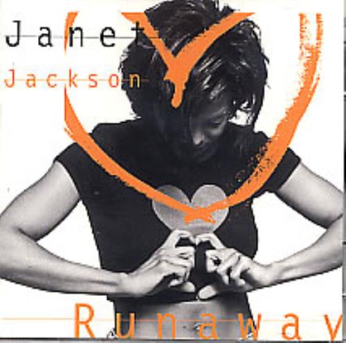 "Janet Jackson Runaway CD single (CD5 / 5"") US J-JC5RU53405"