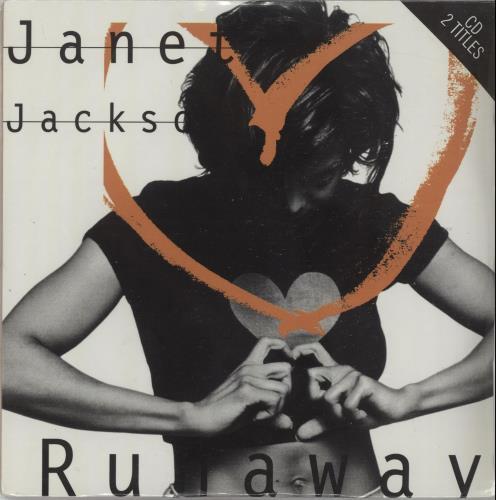 "Janet Jackson Runaway CD single (CD5 / 5"") French J-JC5RU55775"
