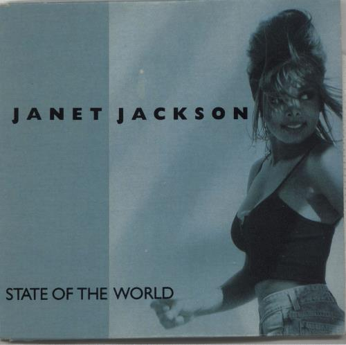 "Janet Jackson State Of The World CD single (CD5 / 5"") Australian J-JC5ST02121"