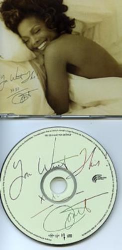 """Janet Jackson You Want This CD single (CD5 / 5"""") Australian J-JC5YO309914"""