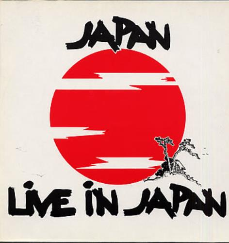 "Japan Live In Japan EP 12"" vinyl single (12 inch record / Maxi-single) German JAP12LI112887"