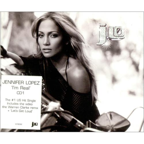 Jennifer Lopez I'm Real 2-CD single set (Double CD single) European LPZ2SIM199609