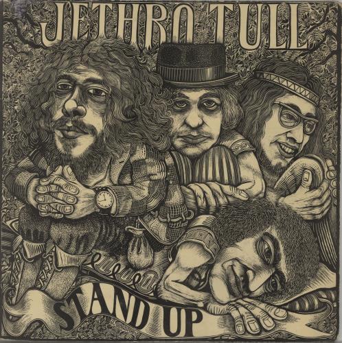 Jethro Tull Stand Up - 1st - Pink 'eye' - VG/EX vinyl LP album (LP record) UK TULLPST664583