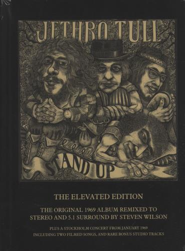 Jethro Tull Stand Up - The Elevated Edition 3-disc CD/DVD Set UK TUL3DST664821