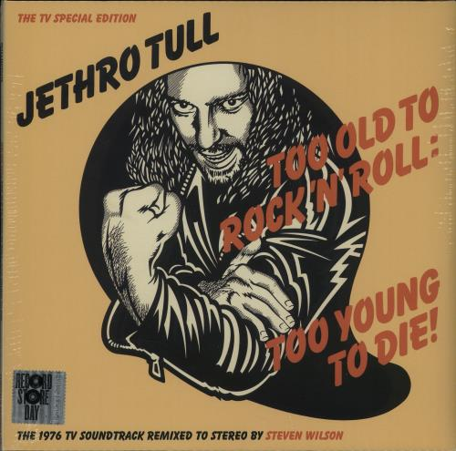 Jethro Tull Too Old To Rock 'n' Roll: Too Young To Die - RSD 16 - Sealed vinyl LP album (LP record) UK TULLPTO651037
