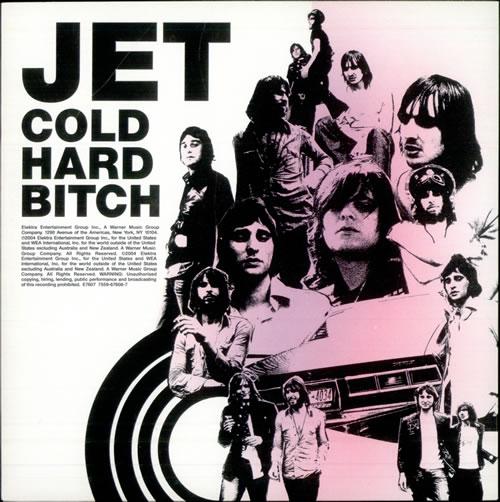 """Jet Cold Hard Bitch 7"""" vinyl single (7 inch record) UK J/T07CO299821"""