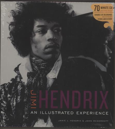 Jimi Hendrix An Illustrated Experience book UK HENBKAN535138