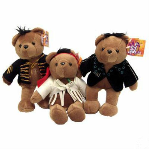 Jimi Hendrix Limited Edition Bears Toy Canadian HENTYLI386930