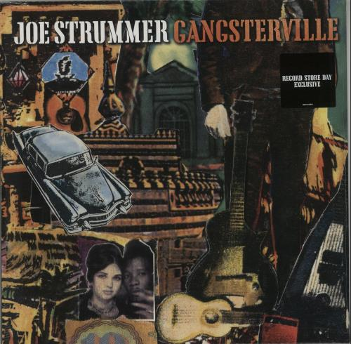 "Joe Strummer Gangsterville - RSD 16 - Sealed 12"" vinyl single (12 inch record / Maxi-single) UK JUM12GA651002"