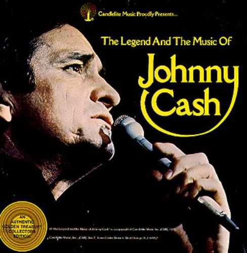 Johnny Cash The Legend And The Music Of - 2-LP vinyl record set (Double Album) US JCS2LTH290077
