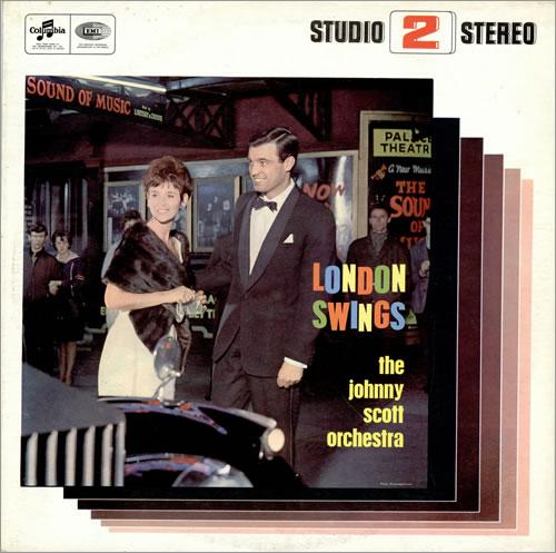 Johnny Scott London Swings vinyl LP album (LP record) UK 8JSLPLO461812