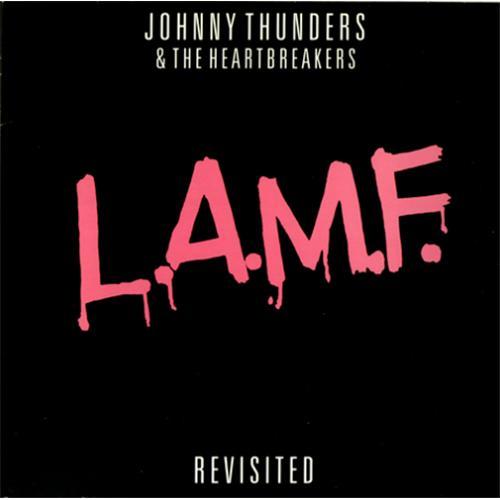 Johnny Thunders L.A.M.F. Revisited - Pink Vinyl vinyl LP album (LP record) UK JTHLPLA416788