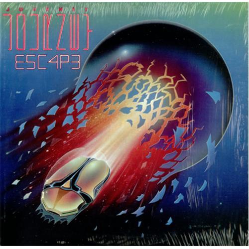 Journey Escape vinyl LP album (LP record) US JOULPES425227