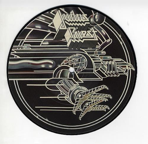 """Judas Priest You've Got Another Thing Comin' 7"""" vinyl picture disc 7 inch picture disc single UK JUD7PYO41088"""