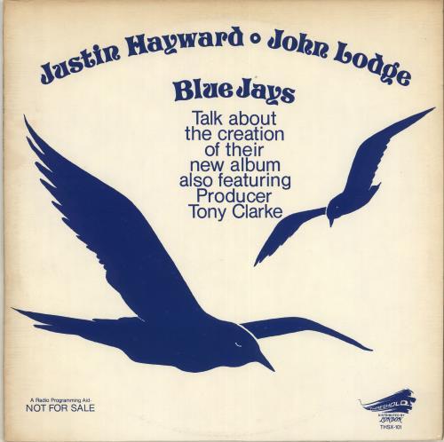 Justin Hayward Blue Jays - Talk About.. vinyl LP album (LP record) US JHWLPBL132976