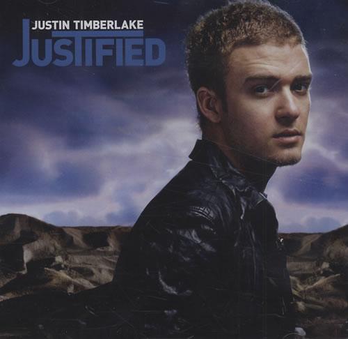 Justin Timberlake Justified CD album (CDLP) Australian JTLCDJU432669