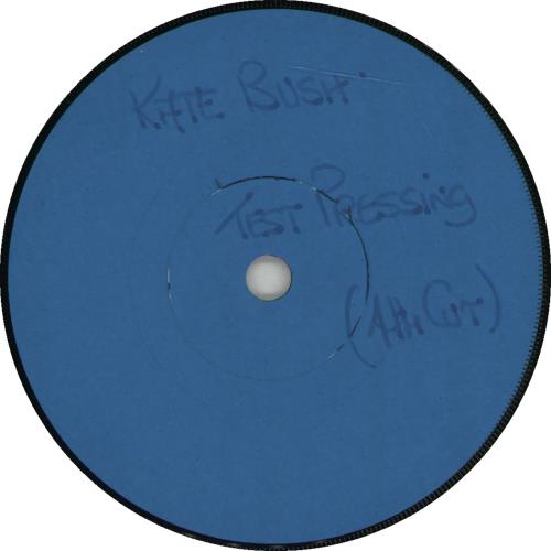 "Kate Bush December Will Be Magic Again - Test Pressing 7"" vinyl single (7 inch record) UK BUS07DE666476"