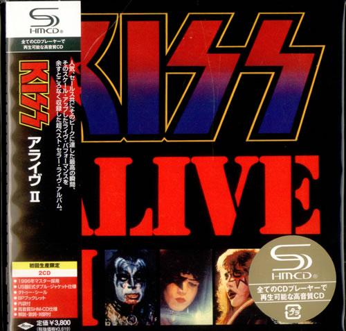 Kiss Alive II SHM CD Japanese KISHMAL439362