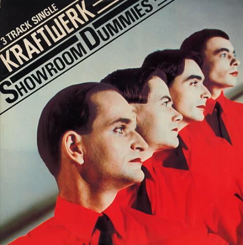 "Kraftwerk Showroom Dummies 12"" vinyl single (12 inch record / Maxi-single) UK KRA12SH18408"