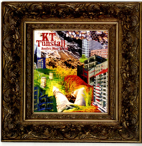 """KT Tunstall Another Place To Fall 7"""" vinyl single (7 inch record) UK KT-07AN352471"""