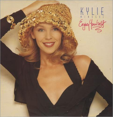 Kylie Minogue Enjoy Yourself vinyl LP album (LP record) Australian KYLLPEN405508