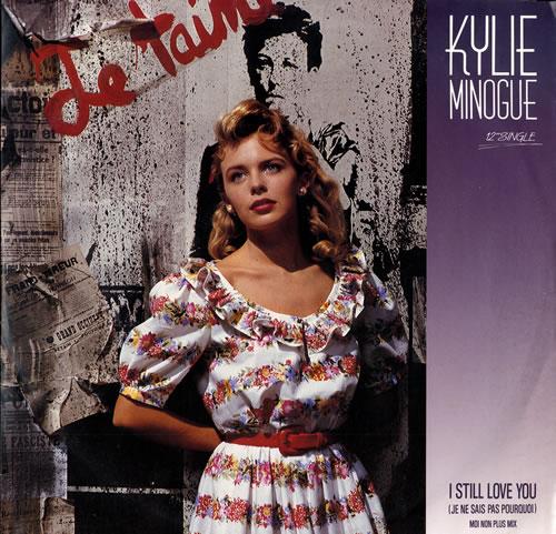 "Kylie Minogue I Still Love You - Promo Stickered 12"" vinyl single (12 inch record / Maxi-single) Australian KYL12IS556197"