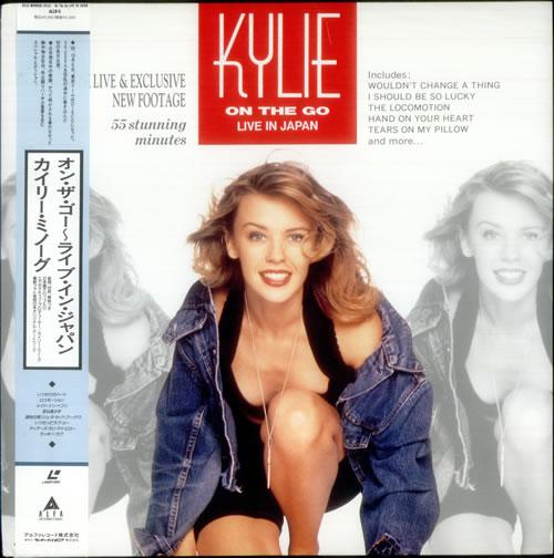 Kylie Minogue On The Go - Live In Japan laserdisc / lazerdisc Japanese KYLLZON168537