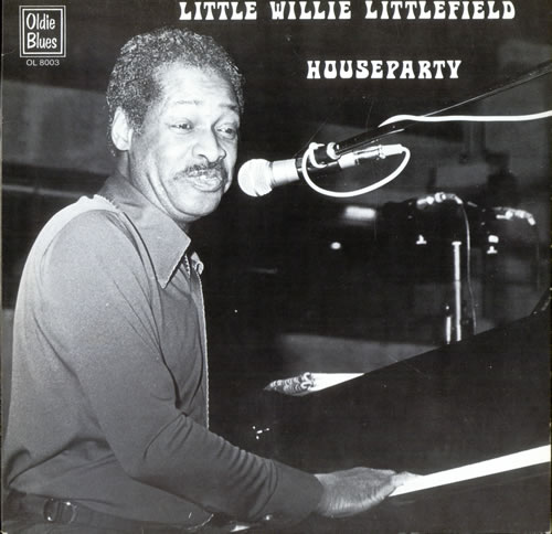 Little Willie Littlefield Houseparty vinyl LP album (LP record) Dutch LW5LPHO498228