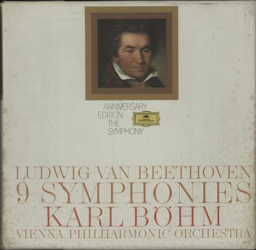 Ludwig Van Beethoven Anniversay Edition: The Symphony Vinyl Box Set UK LVBVXAN668325