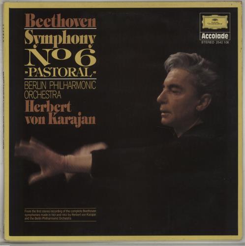 Ludwig Van Beethoven Symphony No. 6 'Pastoral' vinyl LP album (LP record) UK LVBLPSY667705