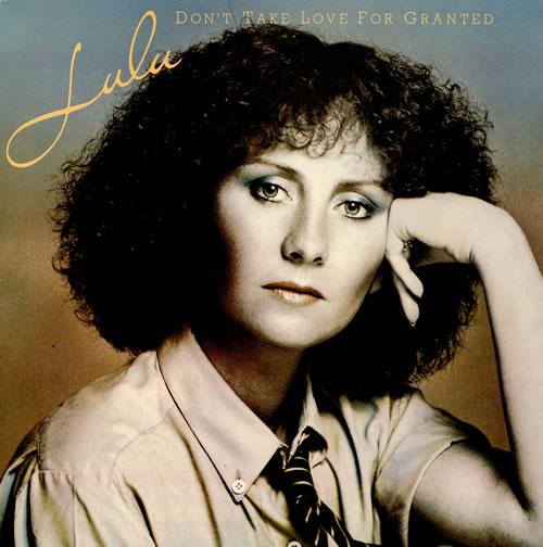 Lulu Don't Take Love For Granted vinyl LP album (LP record) UK LULLPDO458544