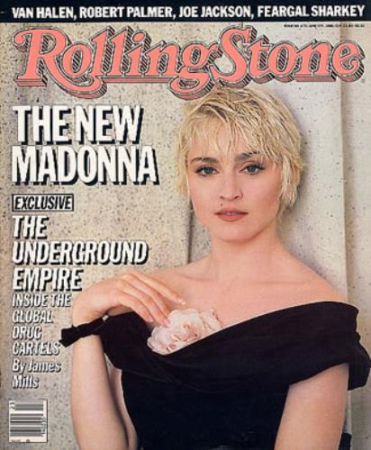 Madonna Rolling Stone - June 5 1986 magazine US MADMARO15334
