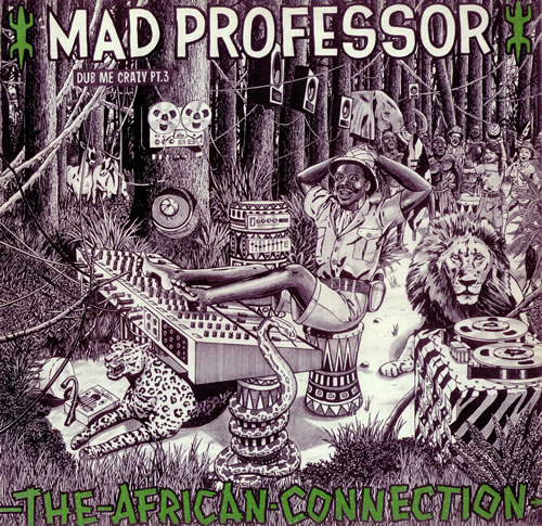 Mad Professor The African Connection - Dub Me Crazy Part 3 vinyl LP album (LP record) UK MDPLPTH441039