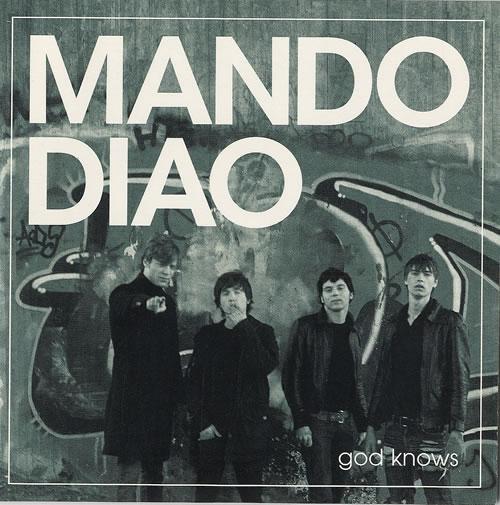 "Mando Diao God Knows CD single (CD5 / 5"") UK MDJC5GO478923"