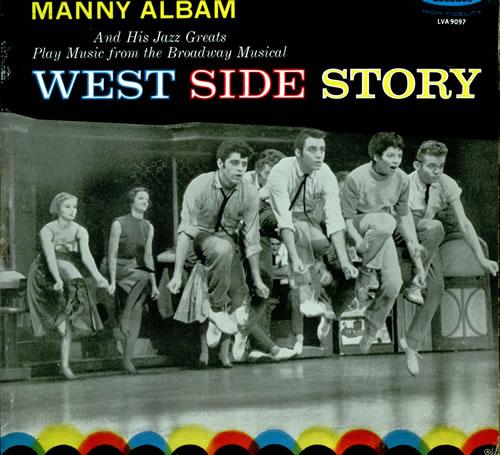 Manny Albam West Side Story vinyl LP album (LP record) UK AL9LPWE512328