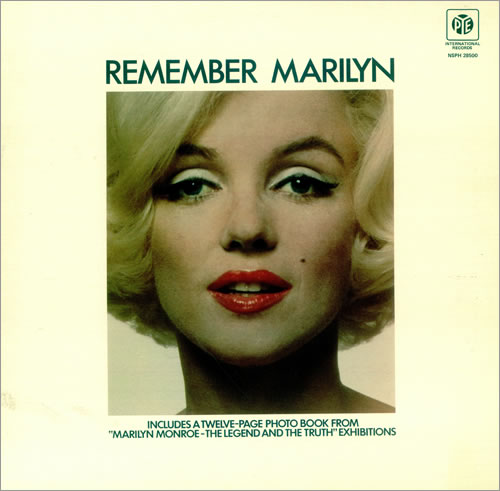 Marilyn Monroe Remember Marilyn vinyl LP album (LP record) UK MLNLPRE456572