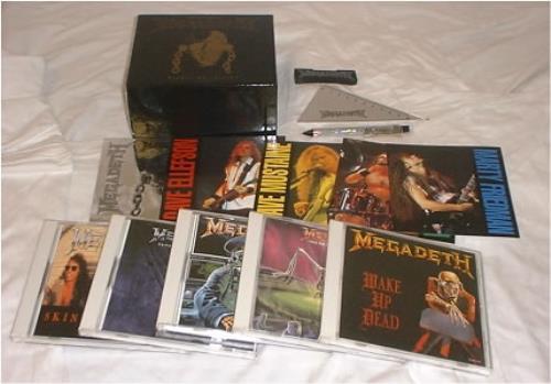 Megadeth Megabox Single Collection box set Japanese MEGBXME12137