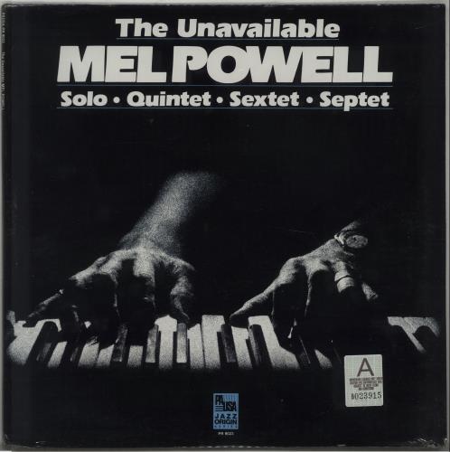 Mel Powell The Unavailable - Sealed vinyl LP album (LP record) US 5MPLPTH584715