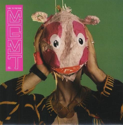 "MGMT Time To Pretend 7"" vinyl single (7 inch record) UK MU607TI428836"