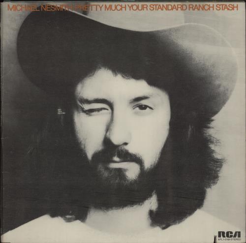 Michael Nesmith Pretty Much Your Standard Ranch Stash vinyl LP album (LP record) US NSMLPPR314501