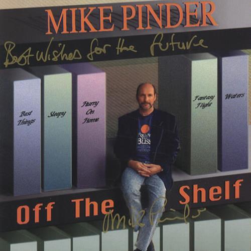 Michael Pinder Off The Shelf - Autographed CD album (CDLP) US MPDCDOF415604
