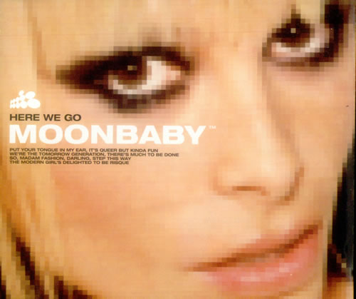 "Moonbaby Here We Go CD single (CD5 / 5"") UK OONC5HE162902"