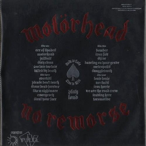 Motorhead No Remorse 2-LP vinyl record set (Double Album) UK MOT2LNO27059