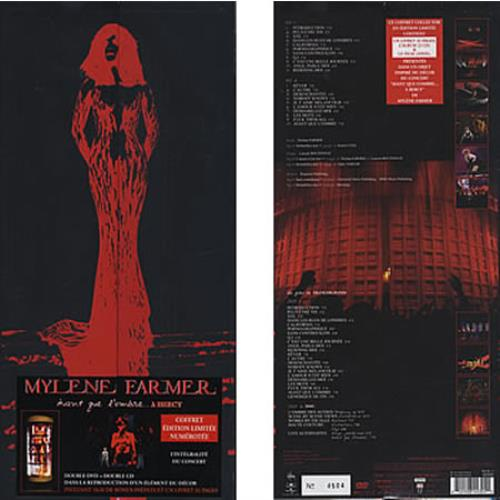Mylene Farmer Avant Que L'Ombre... A B'ercy 2-disc CD/DVD set French MYL2DAV377558