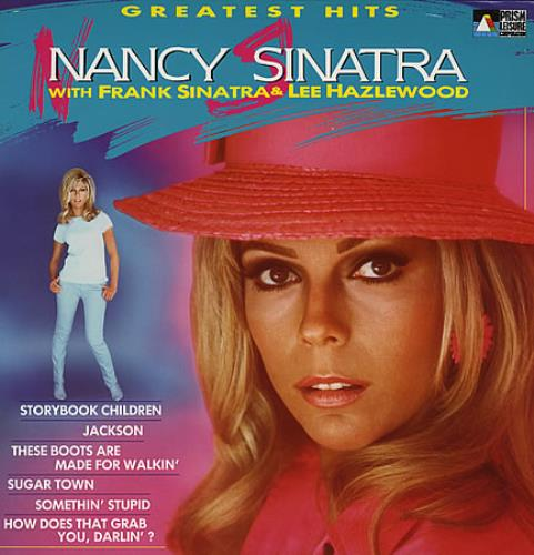 Nancy Sinatra Greatest Hits Uk Vinyl Lp Album Lp Record